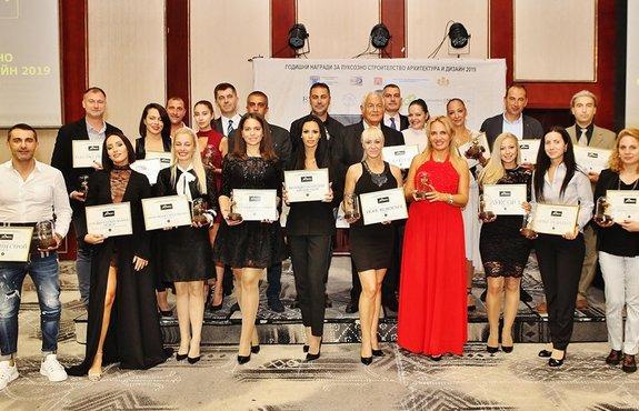 Шедьоври на архитектурата и строителството с 22 златни награди