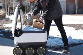 Роботите за доставка на храна - безопасно решение по време на пандемия