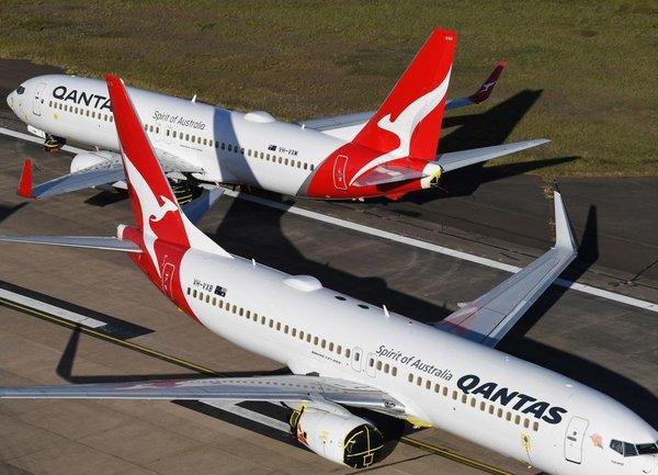 Австралийският водещ авиопревозвач Qantas съкращава 6000 работни места
