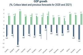 Coface: Спадът на БВП през 2020 и ръстът за 2021 ще са по-малки