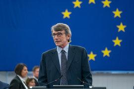 Давид Сасоли, председател на ЕП ©CC-BY-4.0 ©European Union 2019 – Source: EP