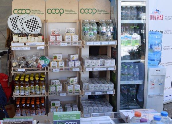 """Здравословни и био продукти с марка """"КООП"""" бяха представени на """"Мисия Здраве"""""""