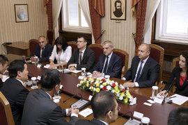 Президентът Румен Радев се срещна с китайски инвеститори
