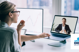 """Услугата """"Видео банкер"""" на ОББ за фирмени клиенти вече и с възможност за иницииране на среща онлайн"""