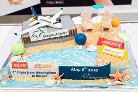 Нискотарифната авиокомпания Jet2 с първи полет от Англия до Бургас