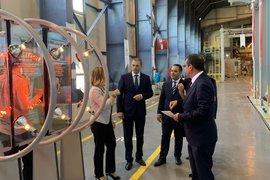 Икономическият министър откри новата пещ на завода за плоско стъкло в Търговище