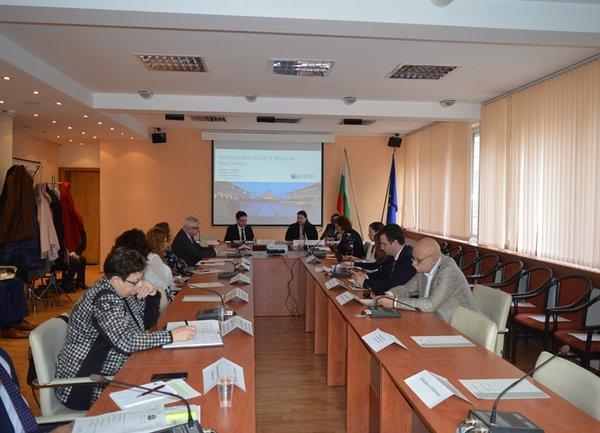 Стартира съвместната работа на Министерството на икономиката и ОИСР за изготвяне на Преглед на инвестиционната политика