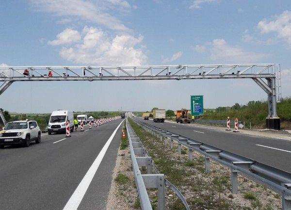 104 камери на магистрали и първокласни пътища следят за платени пътни такси