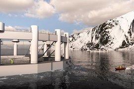 Дистанционно управлявана потопяема рибна ферма в Арктическия океан?